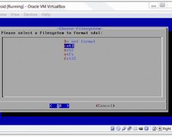 filesystem ext3