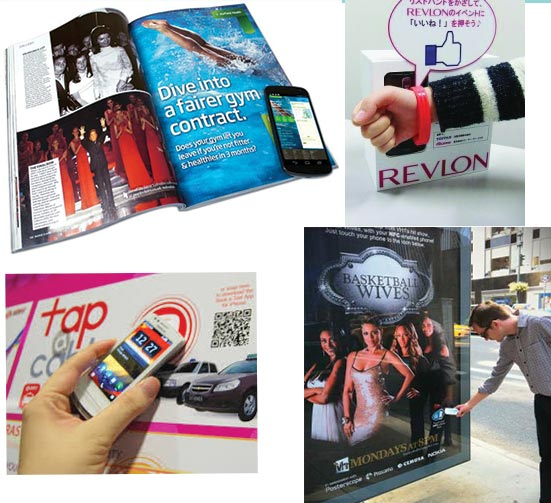 کاربردهای NFC