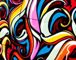 والپیپر نقاشی روی دیوار