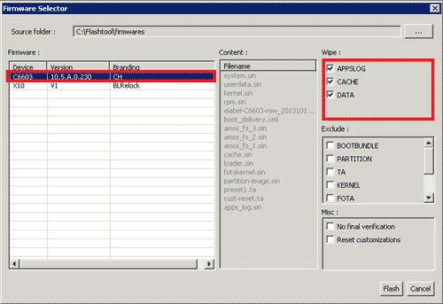 فلش رام رسمی اکسپریا Z3 Compact-D5803  دانلود رام اندروید 6 سونی Z3-D6603 6