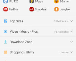 UCbrowser welcome