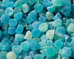 blue gummy