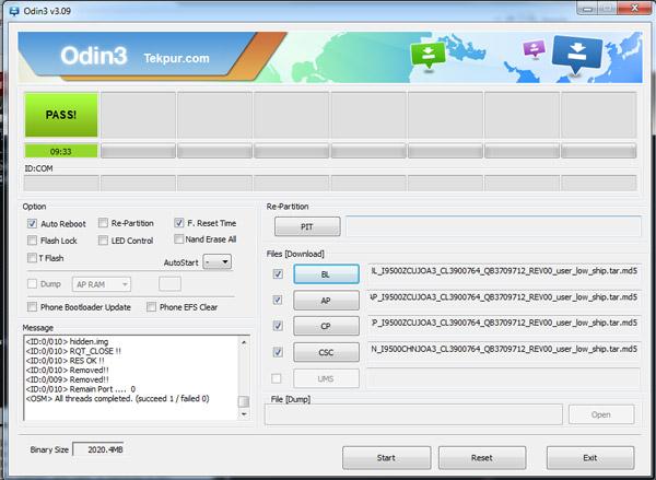 اموزش فلش J5 Prime SM-G570F  دانلود رام ۴ فایل فارسی J5 Prime SM-G570F odin
