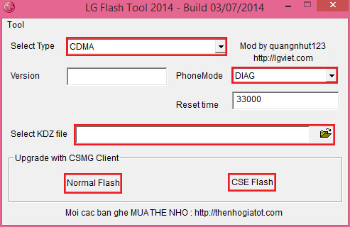 lg flash tools