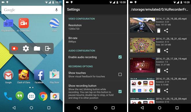 AZ-ScreenRecorder-AndroidZoom-ir