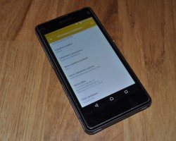 z1 compact android 5