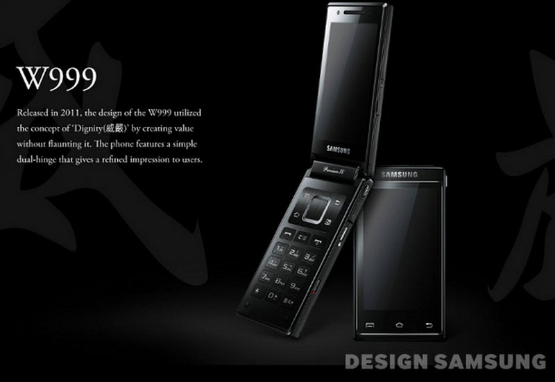 Samsung-Flip-Phone_W999