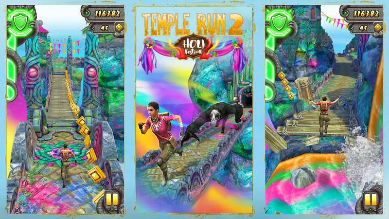 بازی Temple run 2 اندروید مود شده