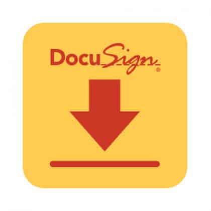 برنامه DocuSign اندروید