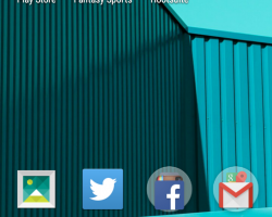 motorola moto g 2015 home screen