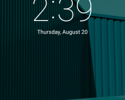 motorola moto g 2015 lock screen