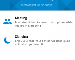 motorola_moto g 2015 moto assist activity