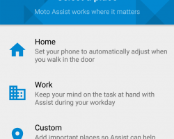 motorola_moto g 2015 moto assist place