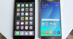 samsung-galaxy note 5 vs. iphone 6 plus
