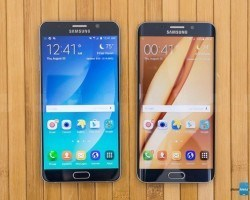 Galaxy Note 5 و +Samsung Galaxy S6 edge