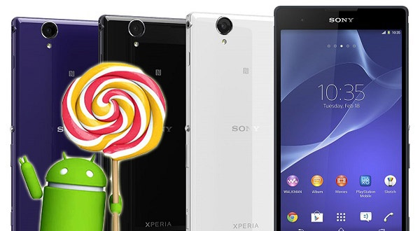 Xperia T2 Ultra android 5.1