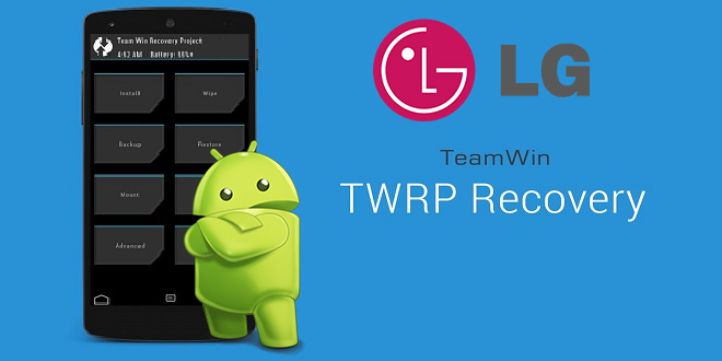 TWRP Recovery + flashing on lg