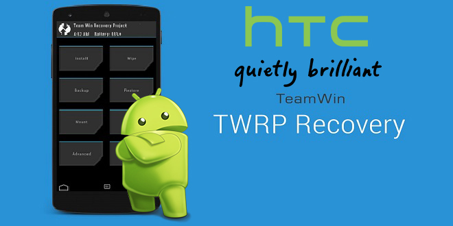 TWRP Recovery for htc