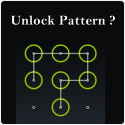 unlock pattern sony