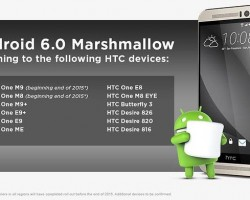 htc android 6 list