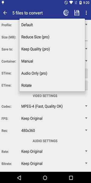 Video Converter Android 2