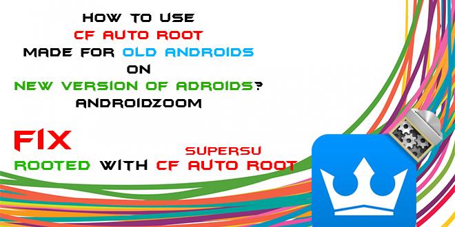 Fix Root CF Auto root