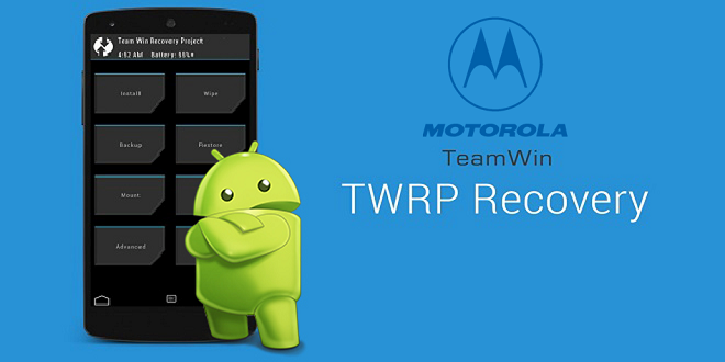 Flash Twrp On motorola