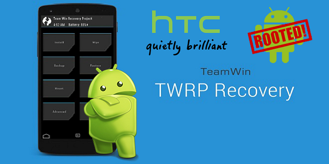 Root HTC TWRP Recovery