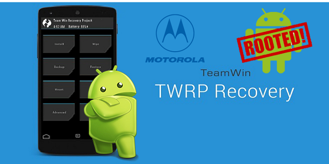 Root Motorola Devices With TWRP Recovery