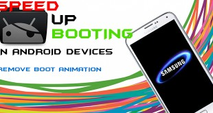 SPEED UP BOOTING