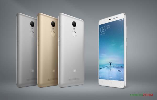 """Xiaomi announces Redmi Note 3 with 5.5"""""""