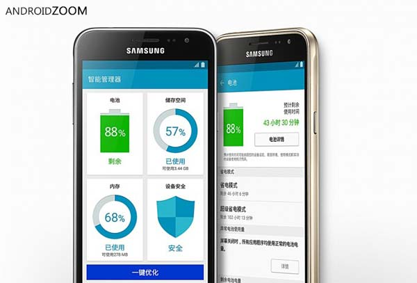 Samsung Galaxy J3 launched with quad-core CPU
