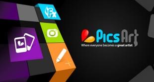 برنامه PicsArt اندروید