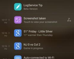 Huawei Mate 8 UI