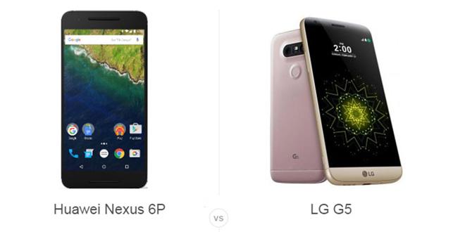 Nexus 6P vs LG G5