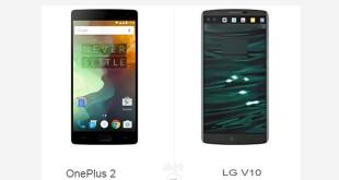 OnePlus 2 vs LG V10