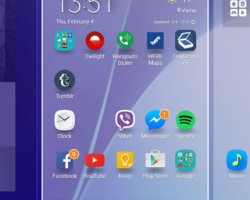 Interface and Functionality Samsung Galaxy A7