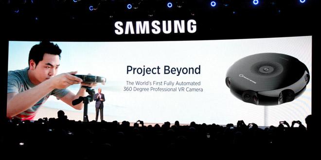 360 degree VR camera alongside the Galaxy S7