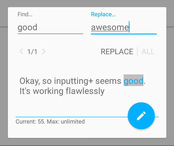 +App Inputting