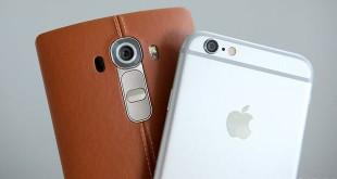 LG G5 & iPhone 6s