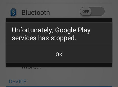 unfortunately, Google Play Store has stopped