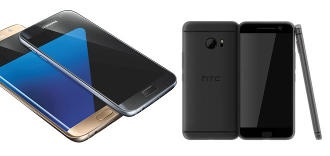 Samsung Galaxy S7 vs HTC One M10 Perfume