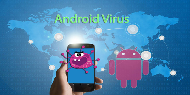 clean android virus