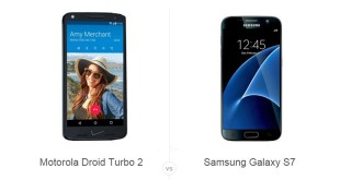 Motorola Droid Turbo 2 vs Samsung Galaxy S7