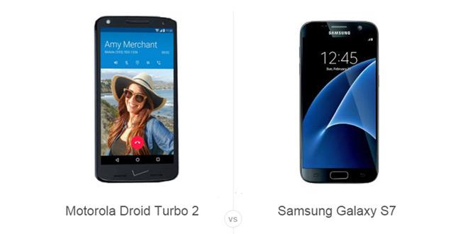 Motorola Droid Turbo 2 vs Samsung Galaxy S7