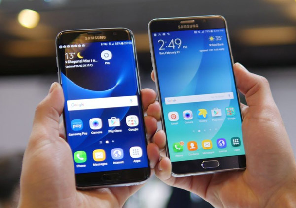 Samsung Galaxy S7 edge & Samsung Galaxy Note 5