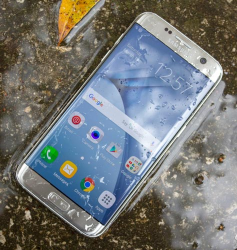 Galaxy S7 water resistant