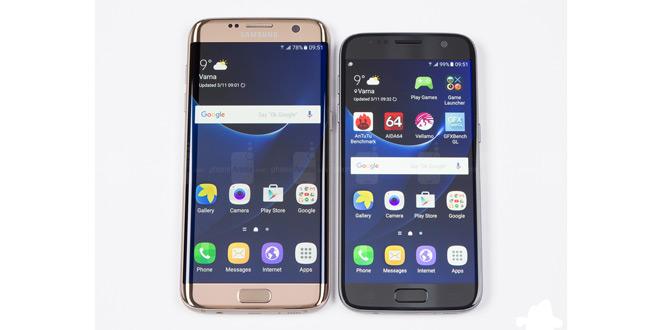 Galaxy S7 Edge vs Galaxy S7
