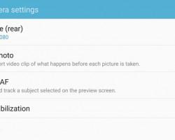 Samsung Galaxy S7 Edge vs Galaxy S7 camera