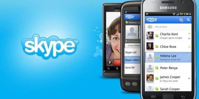 برنامه اسکایپ اندروید